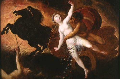 Hades et Perséphone par Brébiette