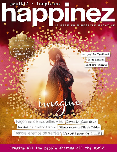 Couverture magazine Happinez