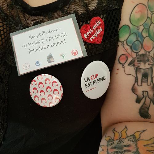 Village santé, stand bien-être menstruel, Lille, juin 2019